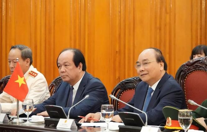Thủ tướng Nguyễn Xuân Phúc đón, hội đàm với Thủ tướng Malaysia - ảnh 4