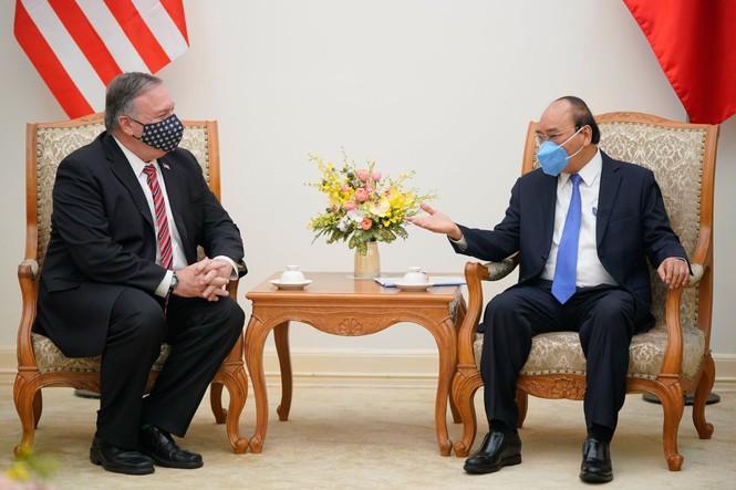 Thủ tướng Nguyễn Xuân Phúc tiếp Ngoại trưởng Mỹ - ảnh 2