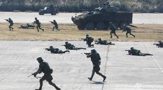Đài Loan tập trận chống Trung Quốc tấn công - ảnh 1