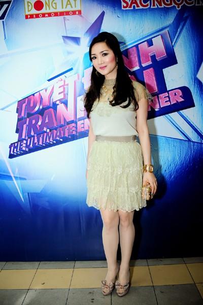 Hoa hậu Giáng My khoe vẻ đẹp không tuổi - ảnh 2
