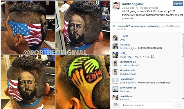 Mùa World Cup, mang cả Ronaldo lên... tóc - ảnh 3