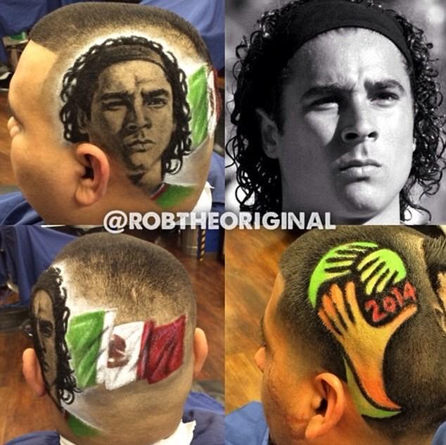 Mùa World Cup, mang cả Ronaldo lên... tóc - ảnh 5