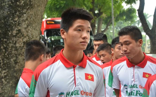 U19 Việt Nam tưởng nhớ Đại tướng Võ Nguyên Giáp - ảnh 5