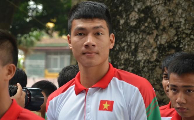 U19 Việt Nam tưởng nhớ Đại tướng Võ Nguyên Giáp - ảnh 3