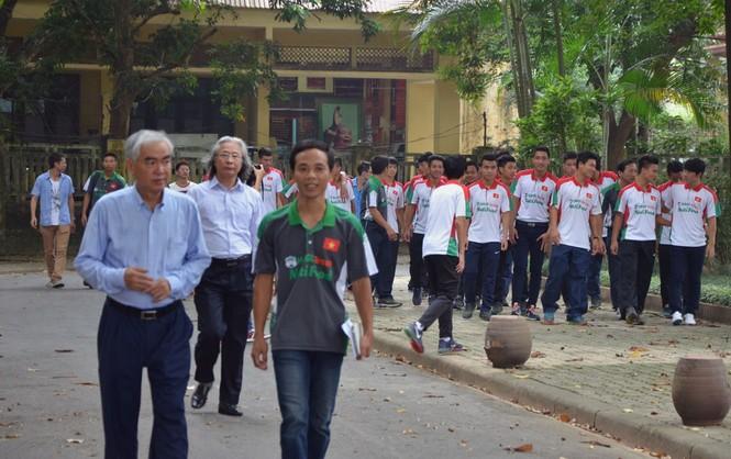 U19 Việt Nam tưởng nhớ Đại tướng Võ Nguyên Giáp - ảnh 10