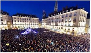 Hàng trăm ngàn người Pháp xuống đường sau vụ thảm sát - ảnh 2