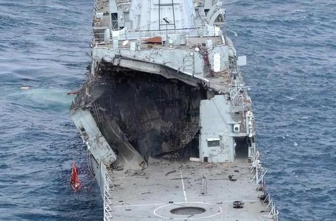 Tàu chiến Anh 'hết đát' trưng dụng làm bia tập bắn - ảnh 5