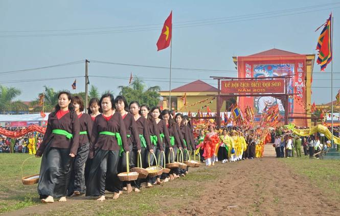 Khai hội Tịch điền Đọi Sơn - ảnh 4