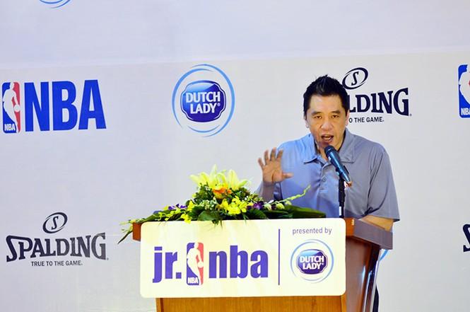 Hơn 4.500 trẻ tham gia chương trình bóng rổ phát triển tài năng trẻ - ảnh 1