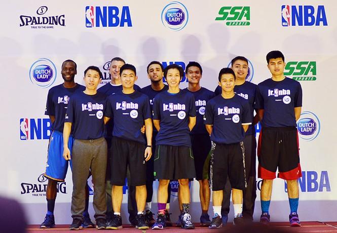 Hơn 4.500 trẻ tham gia chương trình bóng rổ phát triển tài năng trẻ - ảnh 3