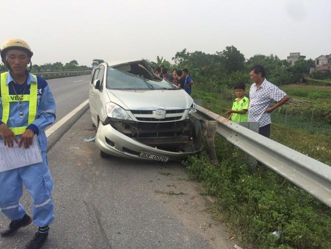 Nạn nhân vụ tai nạn rợn người trên cao tốc Nội Bài – Lào Cai tử vong - ảnh 1