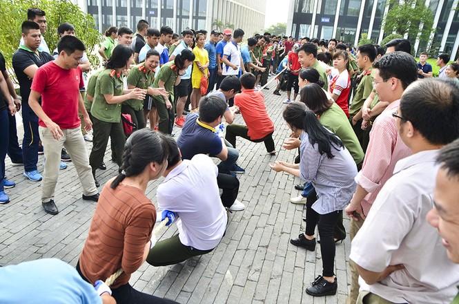 Đoàn Thanh niên các đơn vị thuộc Tổng Cục Chính trị CAND tranh tài thể thao - ảnh 6