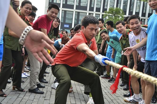 Đoàn Thanh niên các đơn vị thuộc Tổng Cục Chính trị CAND tranh tài thể thao - ảnh 5
