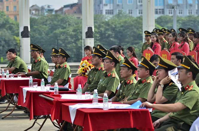 Đoàn Thanh niên các đơn vị thuộc Tổng Cục Chính trị CAND tranh tài thể thao - ảnh 4