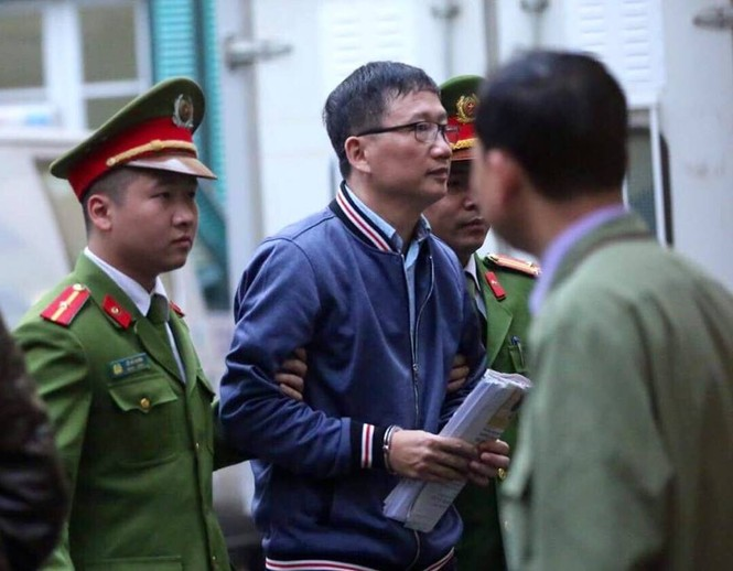 An ninh nghiêm ngặt trong phiên tòa xét xử ông Đinh La Thăng - ảnh 17