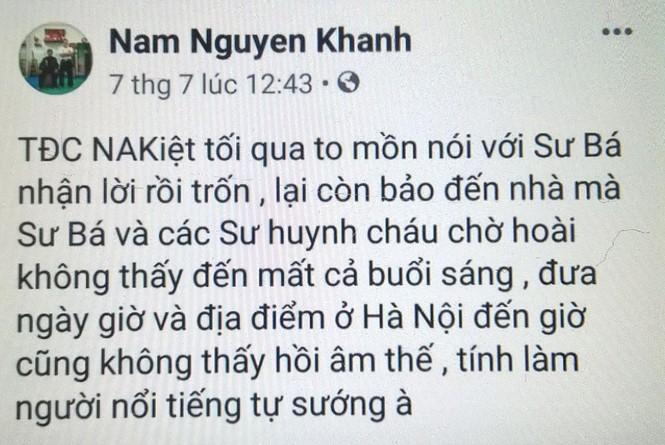 Nam Anh Kiệt nói lý do đánh gãy răng chưởng môn Vịnh Xuân quyền - ảnh 2