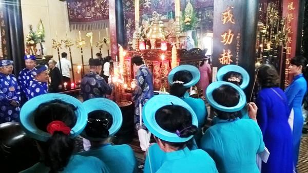 Ấn tượng lễ giỗ lần thứ 187 Tổng trấn Gia Định Lê Văn Duyệt - ảnh 9