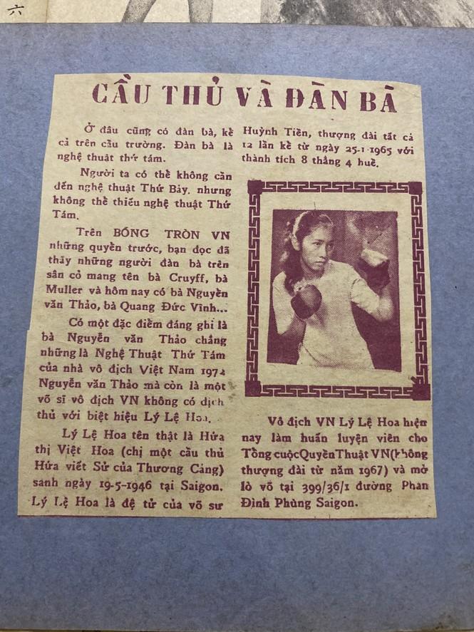 Đồng môn với Lý Huỳnh, nữ võ sĩ Việt Nam đầu tiên thượng đài Lý Lệ Hoa qua đời - ảnh 4