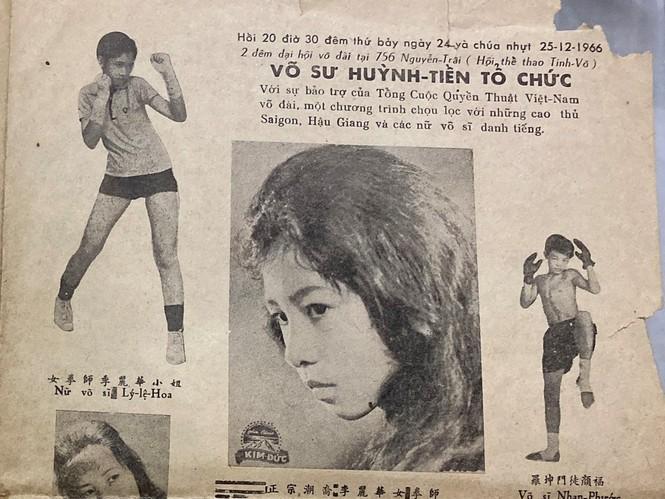 Đồng môn với Lý Huỳnh, nữ võ sĩ Việt Nam đầu tiên thượng đài Lý Lệ Hoa qua đời - ảnh 1