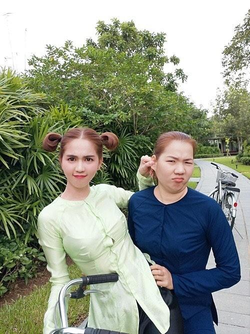 Minh Tú, Trương Quỳnh Anh thi nhau khoe ảnh thả thính cực chất - ảnh 5