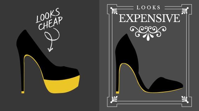 Đôi giày nhìn sang chảnh hay rẻ tiền không liên quan đến giá cả, mà là do điều này - ảnh 1