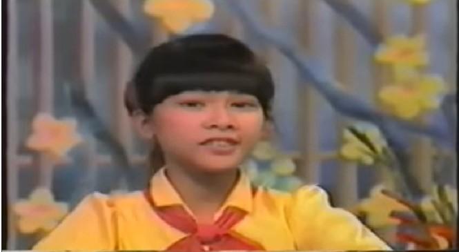 Clip Như Quỳnh hát trên sóng truyền hình năm 10 tuổi 'gây sốt' - ảnh 1
