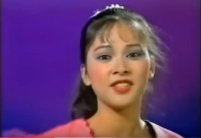 Clip Như Quỳnh hát trên sóng truyền hình năm 10 tuổi 'gây sốt' - ảnh 2