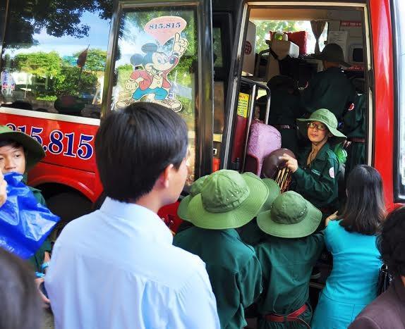 Đắk Lắk: 120 'chiến sĩ nhỏ' nhập ngũ Học kỳ Quân đội  - ảnh 2