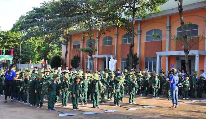 Đắk Lắk: 120 'chiến sĩ nhỏ' nhập ngũ Học kỳ Quân đội  - ảnh 3