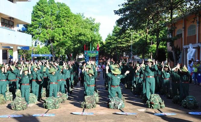 Đắk Lắk: 120 'chiến sĩ nhỏ' nhập ngũ Học kỳ Quân đội  - ảnh 5