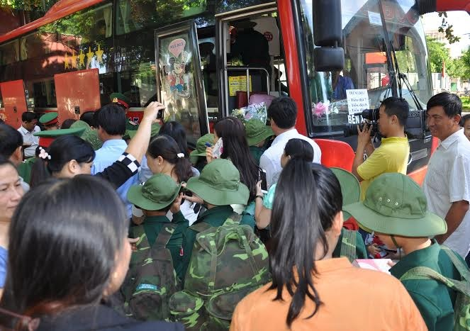 Đắk Lắk: 120 'chiến sĩ nhỏ' nhập ngũ Học kỳ Quân đội  - ảnh 6