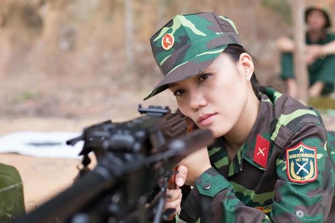 Nhan sắc nữ xạ thủ từng đoạt danh hiệu Á khôi - ảnh 10