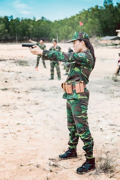 Nhan sắc nữ xạ thủ từng đoạt danh hiệu Á khôi - ảnh 6