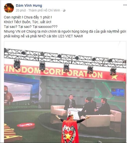 Sao việt chia sẻ sau Chung kết U23 Việt Nam- U23 Uzbekistan