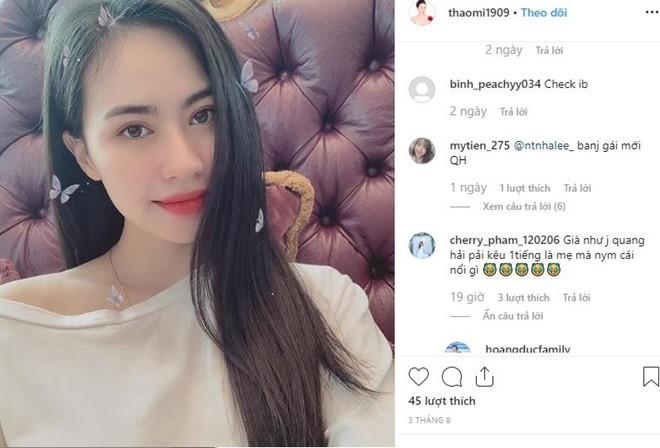 Hotgirl Sài thành bị đồn là bạn gái mới của Quang Hải diện bikini cực 'nóng' - ảnh 1
