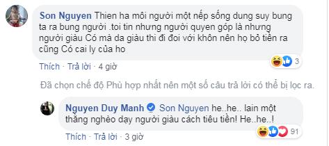Phát ngôn ám chỉ Phan Anh bỏ túi 21 tỷ tiền từ thiện của Duy Mạnh gây tranh cãi - ảnh 1