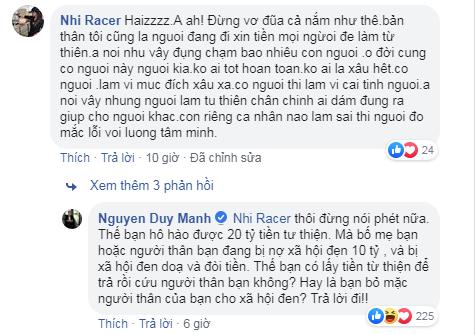 Phát ngôn ám chỉ Phan Anh bỏ túi 21 tỷ tiền từ thiện của Duy Mạnh gây tranh cãi - ảnh 3