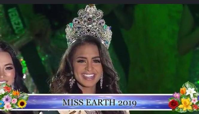 Người đẹp đến từ Puerto Rico đăng quang Hoa hậu Trái đất 2019 - ảnh 3