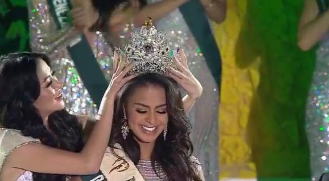 Người đẹp đến từ Puerto Rico đăng quang Hoa hậu Trái đất 2019 - ảnh 2