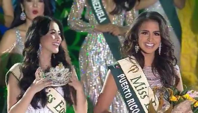 Người đẹp đến từ Puerto Rico đăng quang Hoa hậu Trái đất 2019 - ảnh 1