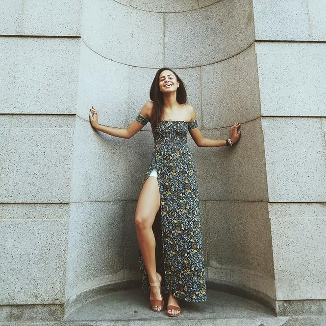 Ảnh bán nude nóng 'bỏng rẫy' khác lạ của Tân Hoa hậu Trái đất  - ảnh 7