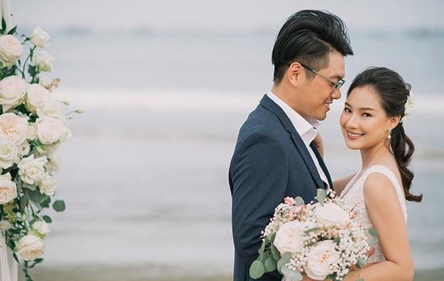 Vợ cố người mẫu Duy Nhân bật khóc vì bị chỉ trích 'cưới chạy bầu' - ảnh 1