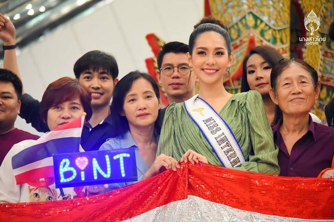 Nhan sắc thiên thần của người đẹp Thái Lan vừa đăng quang Hoa hậu Quốc tế 2019  - ảnh 3