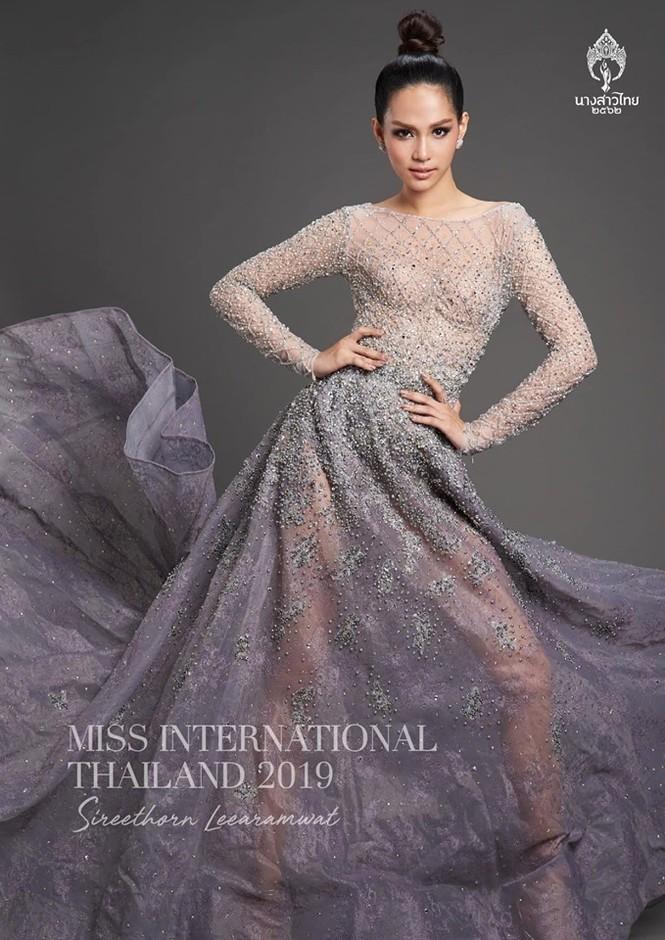 Nhan sắc thiên thần của người đẹp Thái Lan vừa đăng quang Hoa hậu Quốc tế 2019  - ảnh 1