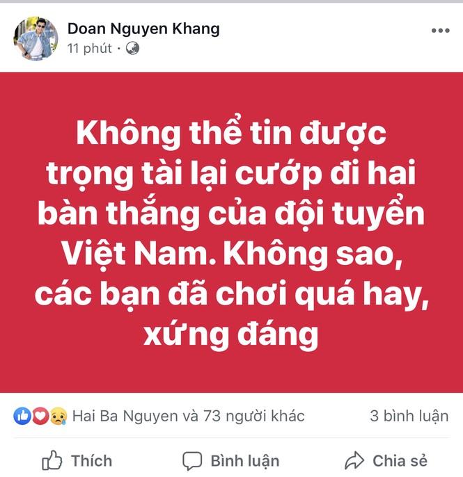 Bức xúc khi trọng tài Al-Kaf không công nhận bàn thắng của tuyển Việt Nam - ảnh 7