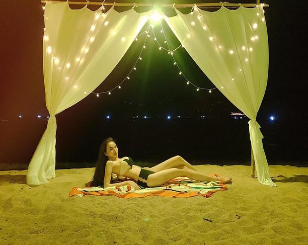 Diễm Hương tung ảnh bikini 'bỏng rẫy', đáp trả khi bị 'gạ' 30.000 USD - ảnh 1