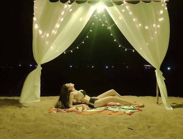 Diễm Hương tung ảnh bikini 'bỏng rẫy', đáp trả khi bị 'gạ' 30.000 USD - ảnh 2