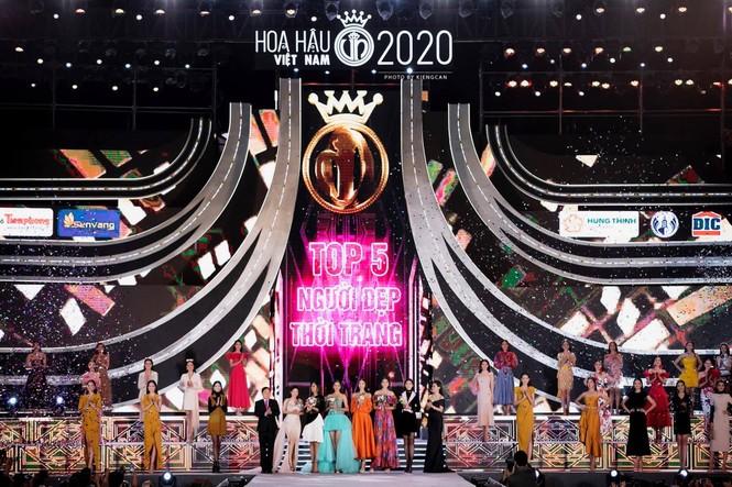Nhan sắc Top 5 Người đẹp Thời trang Hoa hậu Việt Nam 2020 - ảnh 1