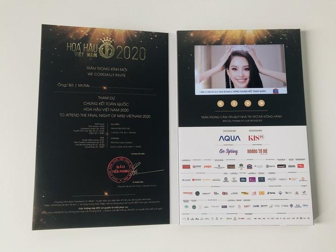 Hé lộ vé mời đặc biệt tham dự đêm Chung kết toàn quốc Hoa Hậu Việt Nam 2020 - ảnh 3