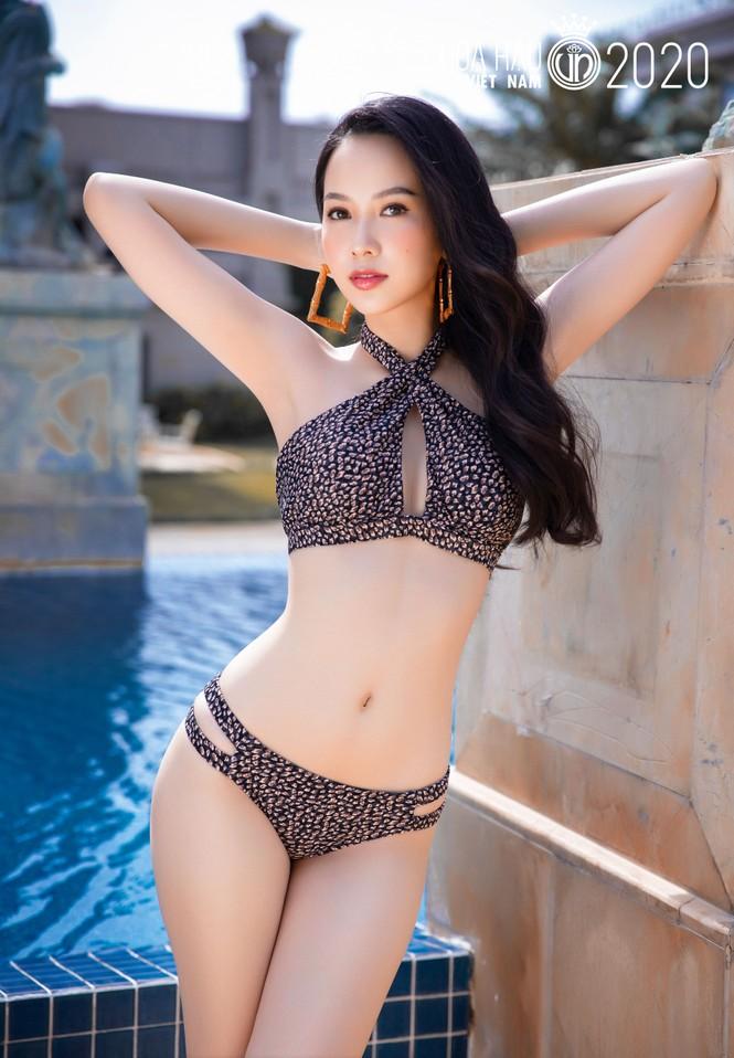 5 cô gái mặc bikini đẹp nhất Hoa hậu Việt Nam 2020 trình diễn áo tắm - ảnh 1